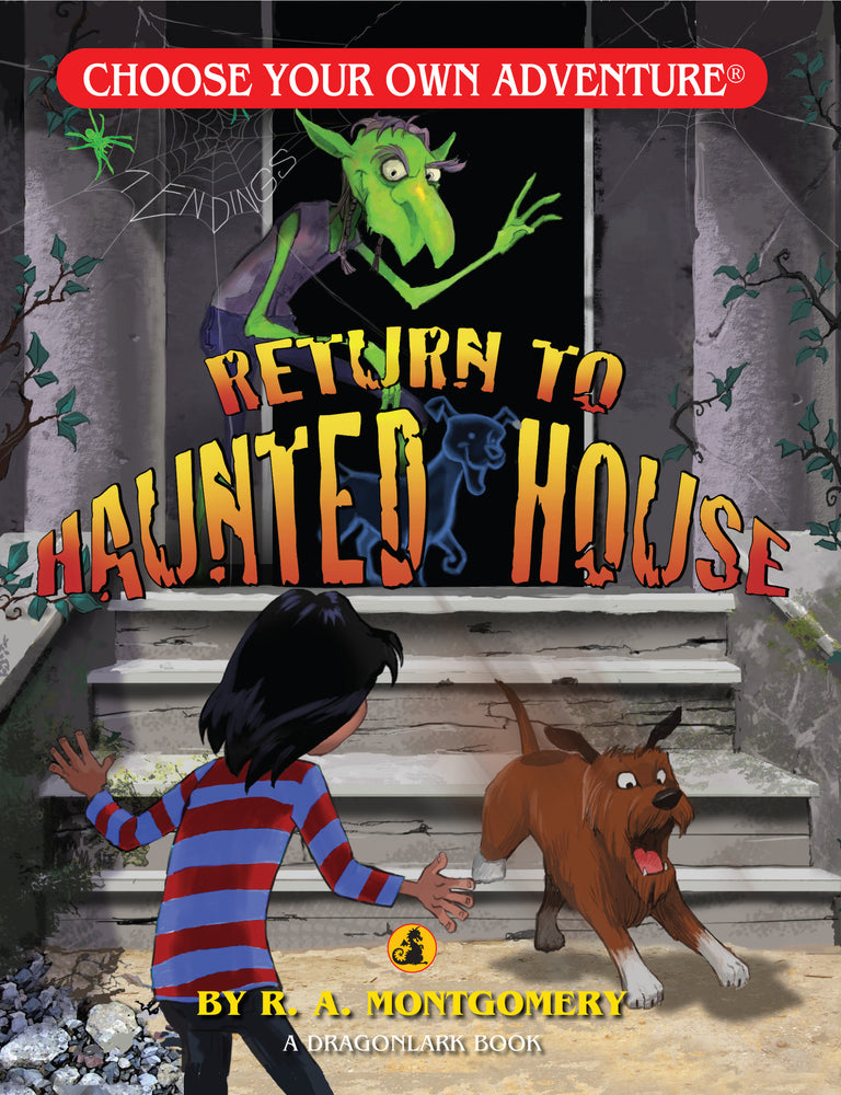 Choose Your Own Adventure Dragonlark Return to Haunted House
