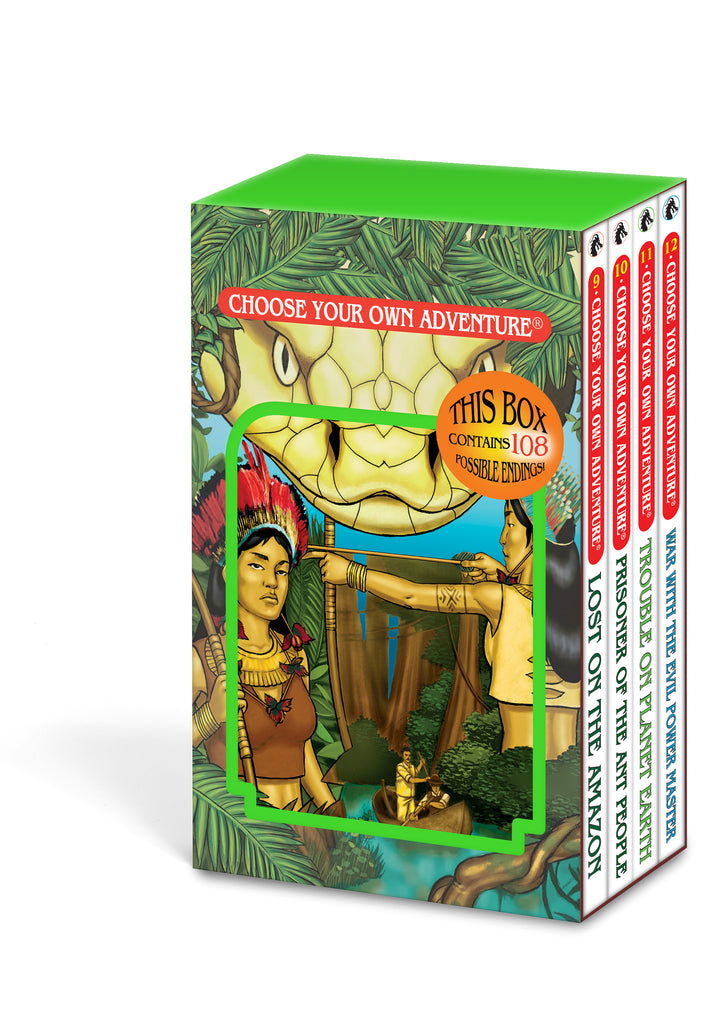 4 Book Box Set #3