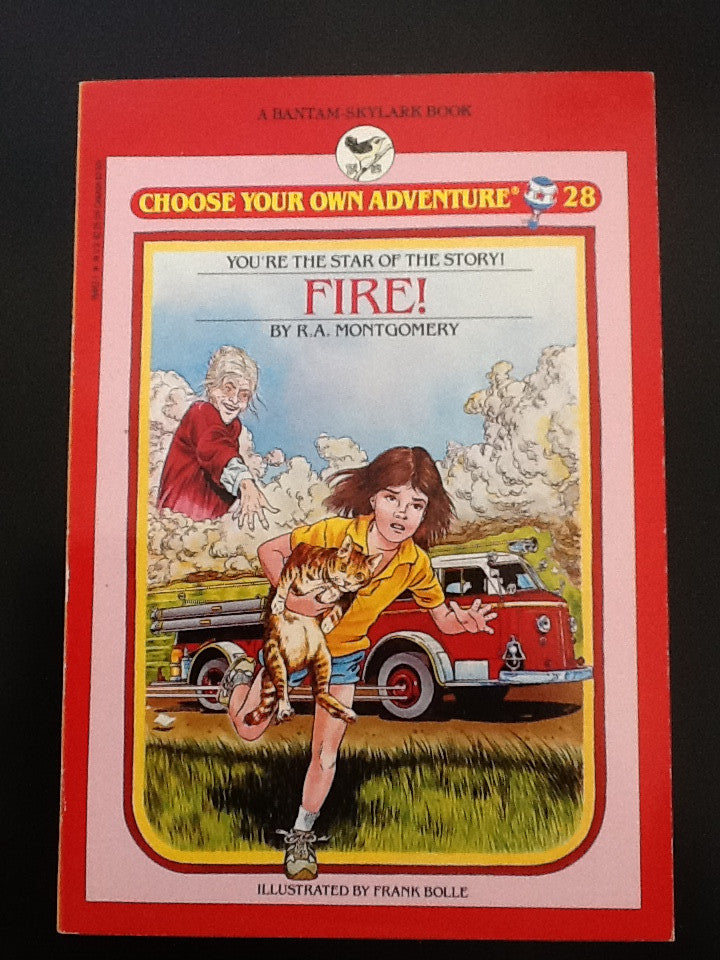 Choose Your Own Adventure Vintage Fire!