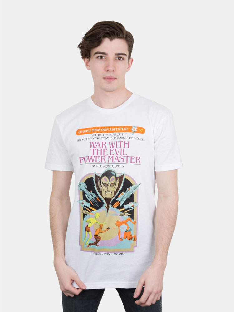 War With the Evil Power Master T-shirt (unisex)