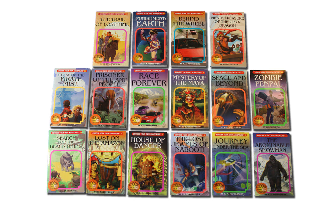 Choose Your Own Adventure Book Pack