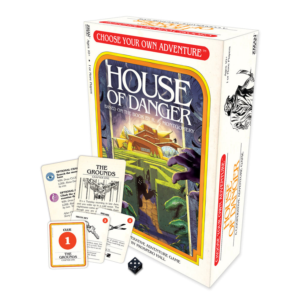 Choose Your Own Adventure: House of Danger (The Board Game)