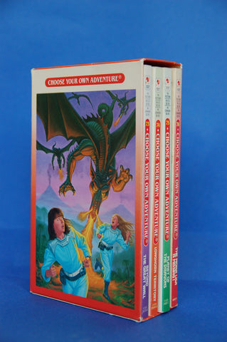 Choose Your Own Adventure Rare Vintage 4 Book Box Set