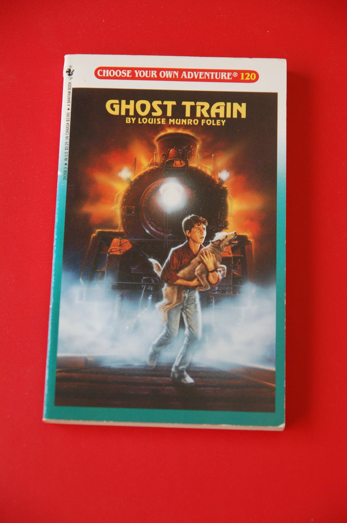 Choose Your Own Adventure Vintage Ghost Train