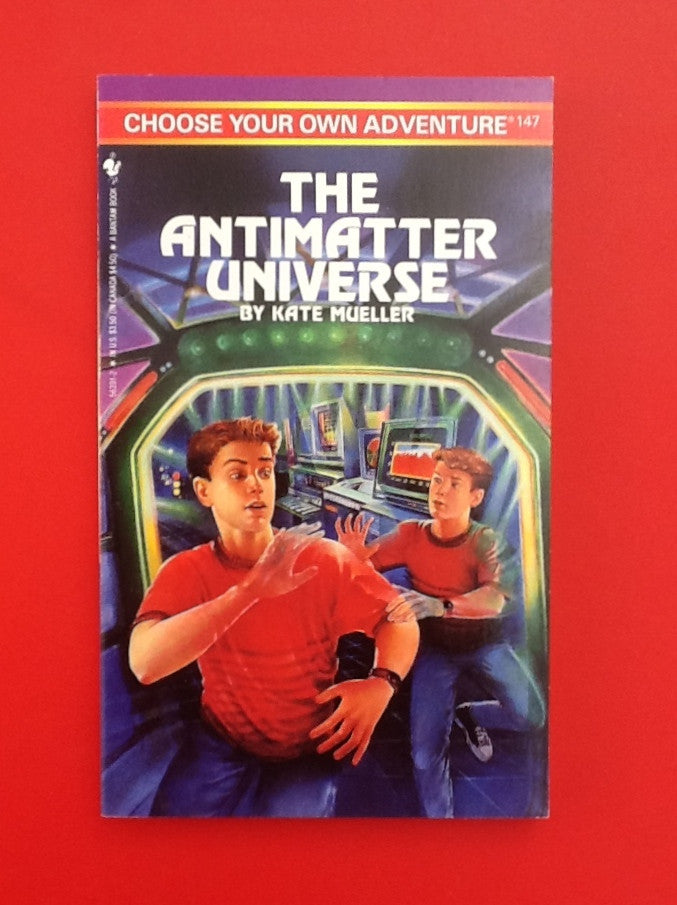 Choose Your Own Adventure Vintage The AntiMatter Universe