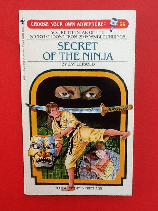 Vintage Secret of the Ninja #66