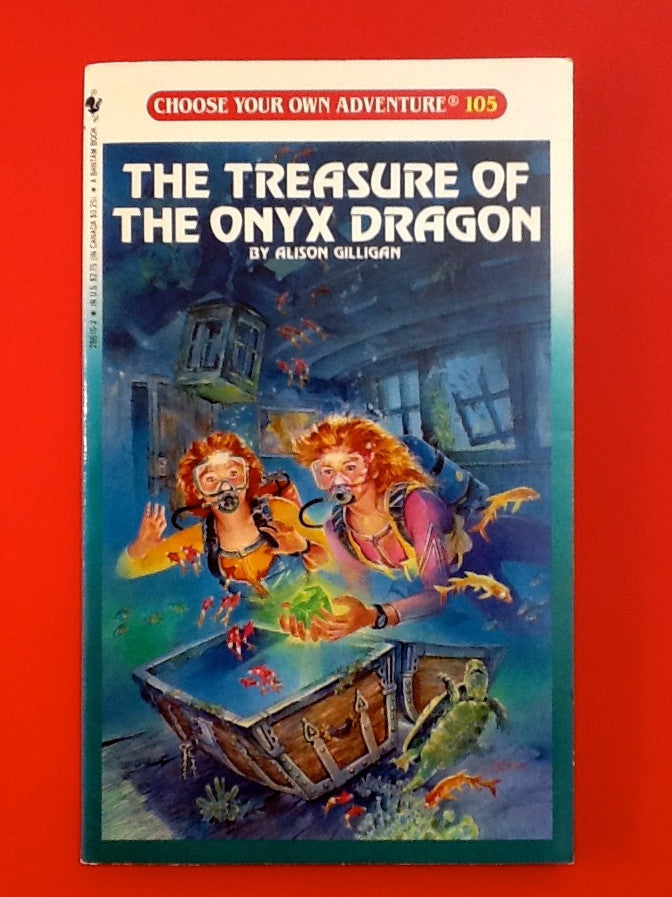 Vintage The Treasure of the Onyx Dragon #105