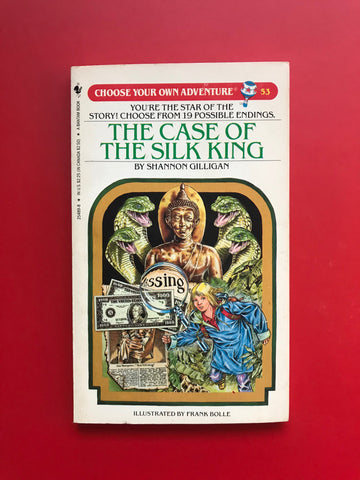 Vintage The Case of the Silk King #53