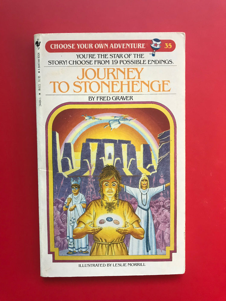 Vintage Journey To Stonehenge #35