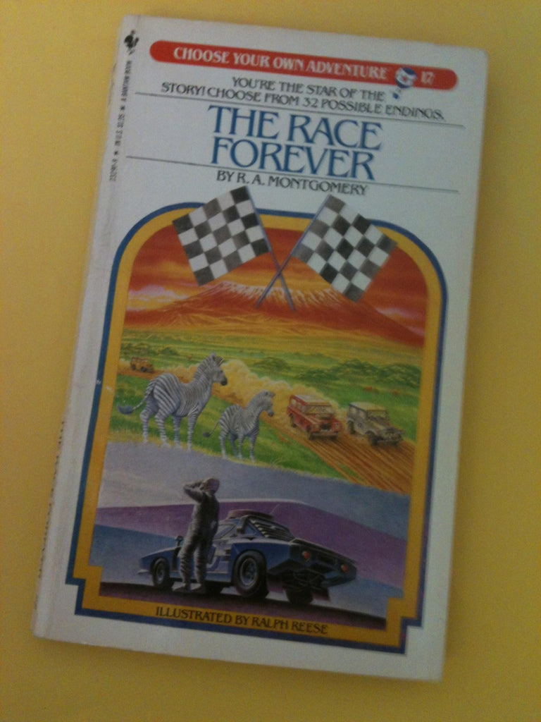 Vintage The Race Forever #17