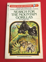 Vintage Search for the Mountain Gorillas #41