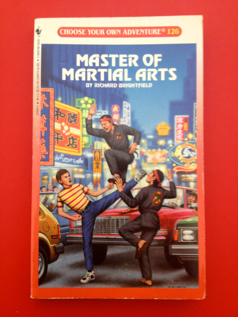 Vintage Master of Martial Arts #126