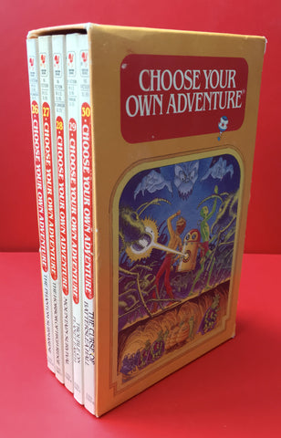 Choose Your Own Adventure Rare Vintage 5 Book Box Set