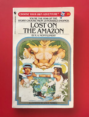 Load image into Gallery viewer, Vintage Lost on the Amazon #24