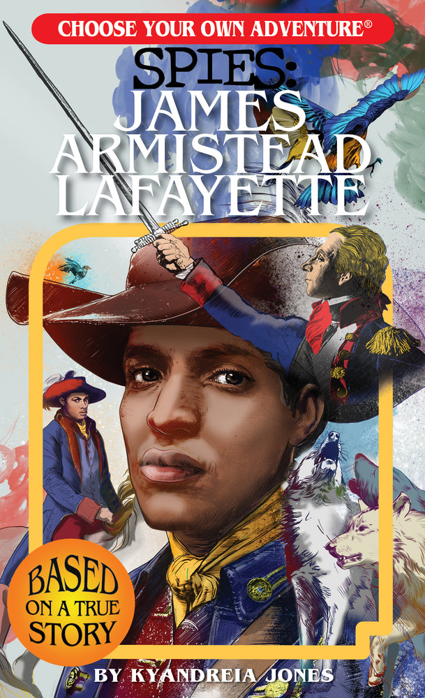 Load image into Gallery viewer, Choose Your Own Adventure SPIES: James Armistead Lafayette