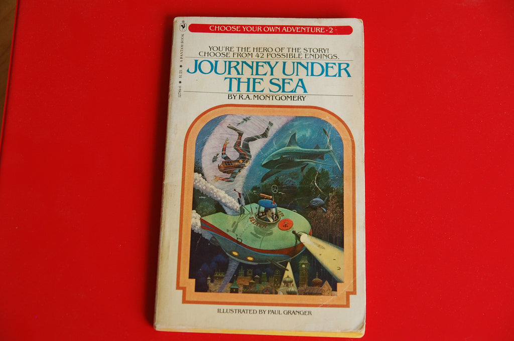 Choose Your Own Adventure Vintage  Journey Under the Sea #2