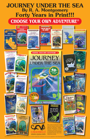 Journey Under the Sea 40th Anniversary Poster