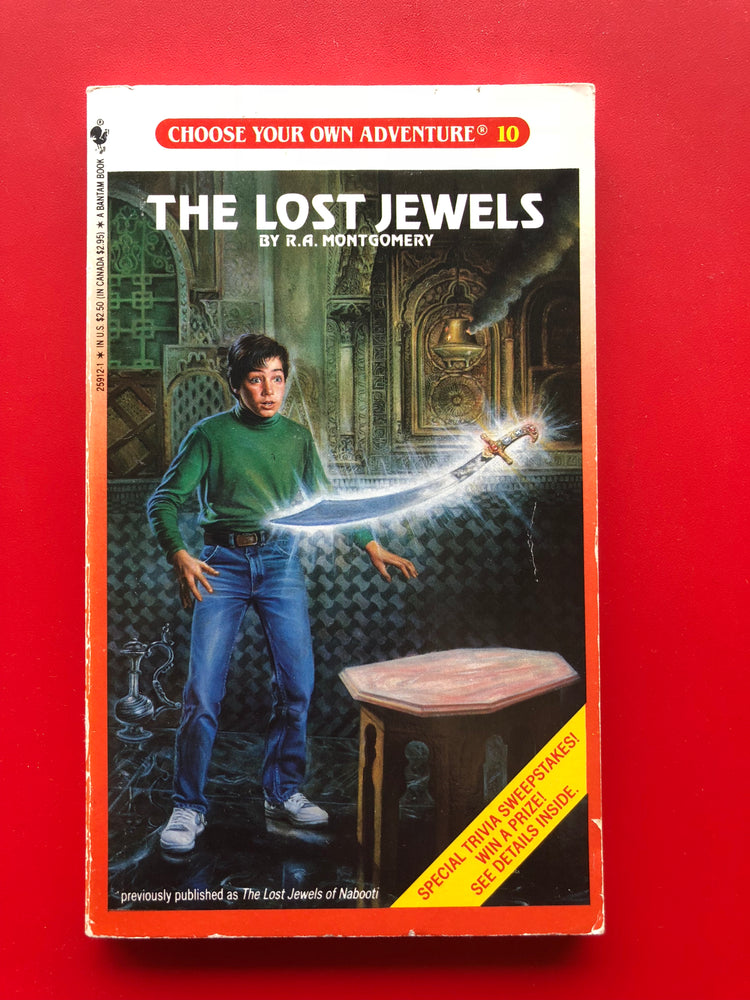 Vintage The Lost Jewels #10