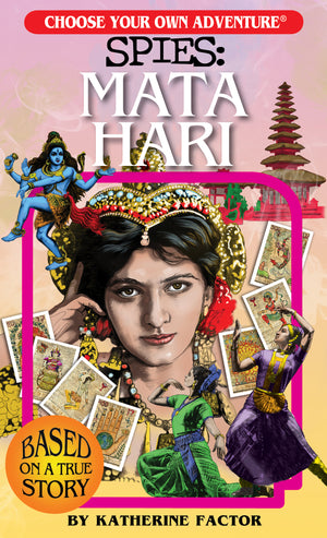 Load image into Gallery viewer, Choose Your Own Adventure SPIES: Mata Hari