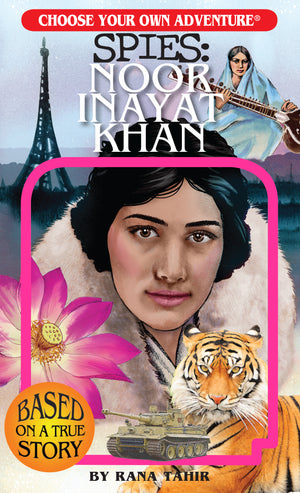 Load image into Gallery viewer, Choose Your Own Adventure SPIES: Noor Inayat Khan