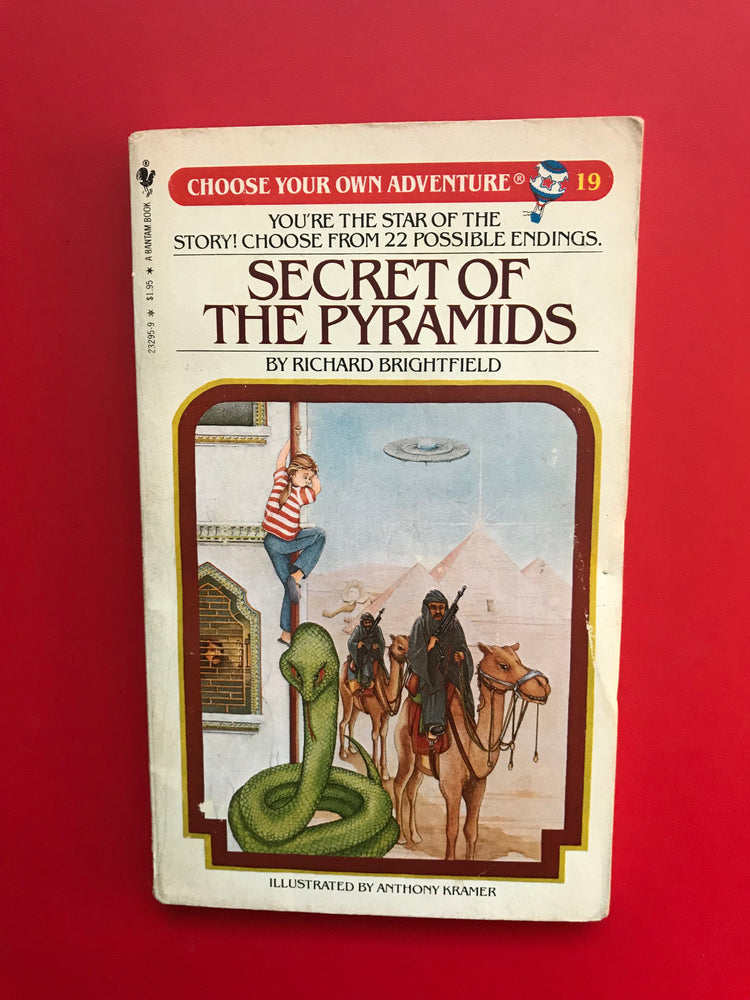 Vintage The Secret of the Pyramids #19