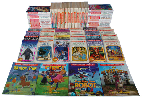 Choose Your Own Adventure Rare Butterfly Entire Collection