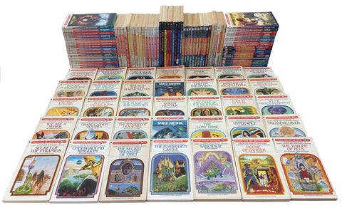 Complete set of vintage Choose Your Own Adventure books