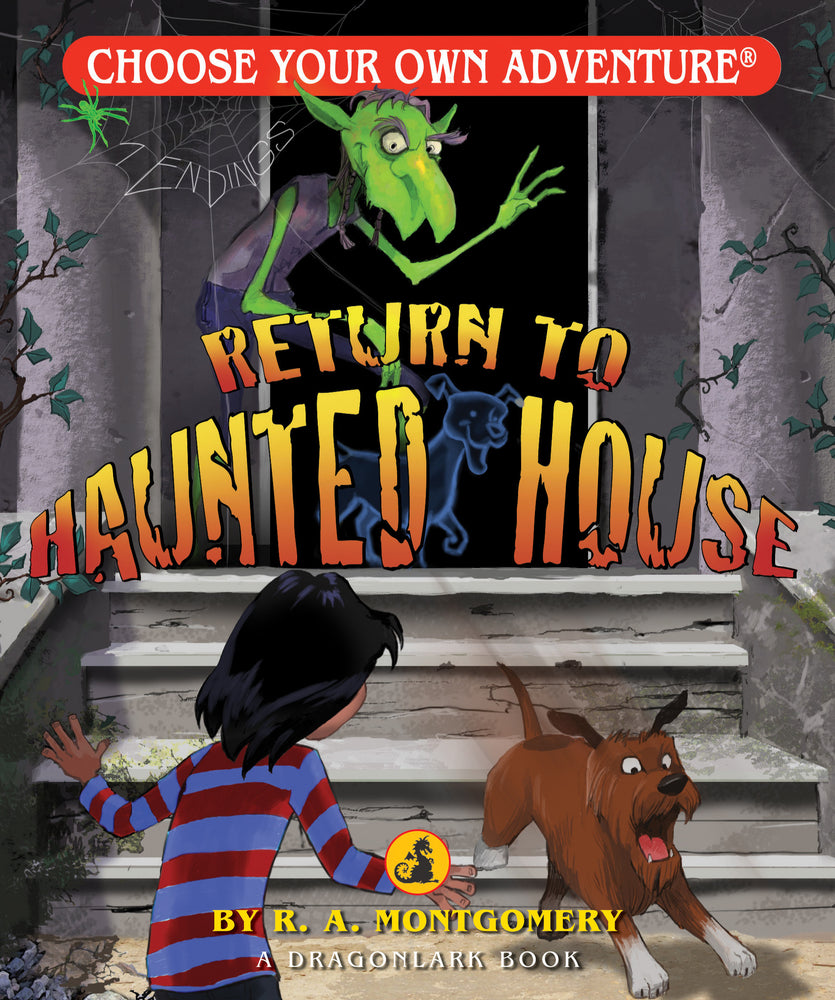 Choose Your Own Adventure Return to Haunted House