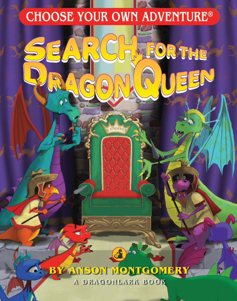 Load image into Gallery viewer, Choose Your Own Adventure Search for the Dragon Queen