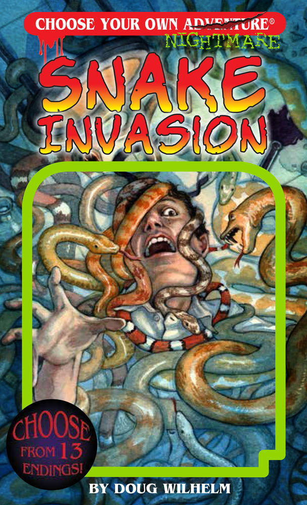 Choose Your Own Adventure Snake Invasion