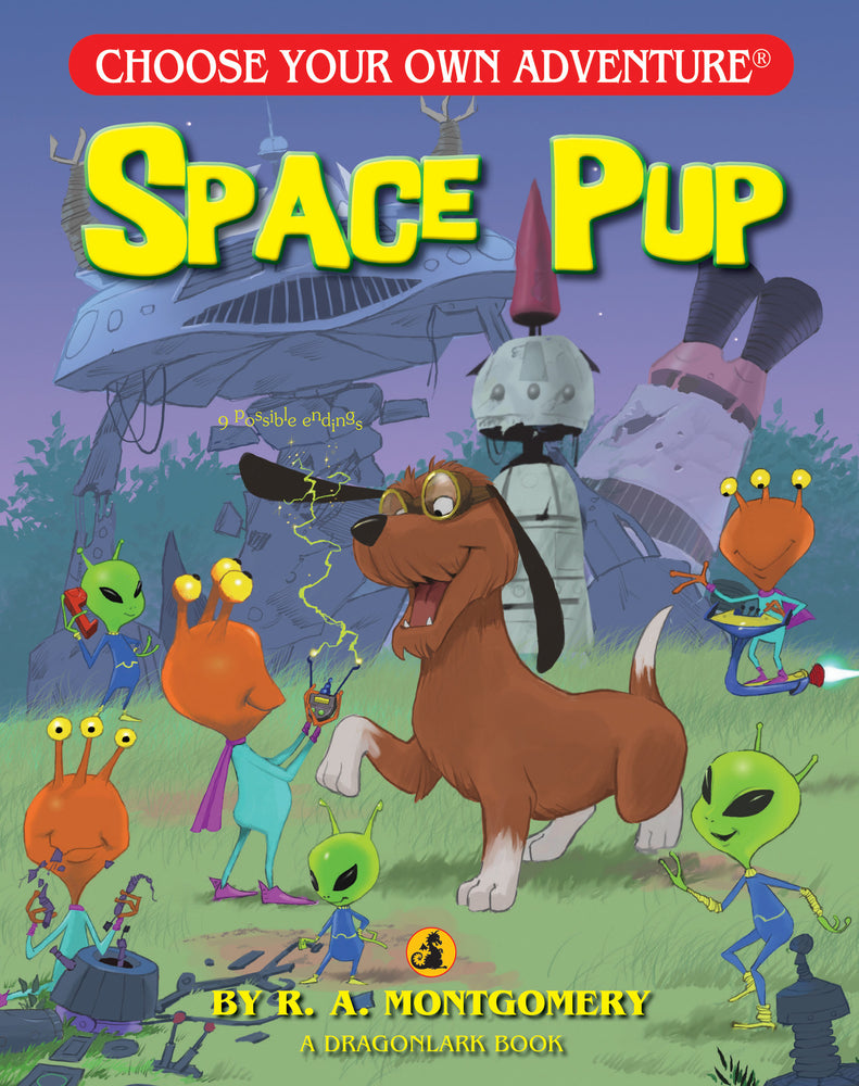Choose Your Own Adventure Space Pup