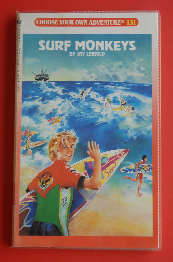 Vintage Surf Monkeys #131