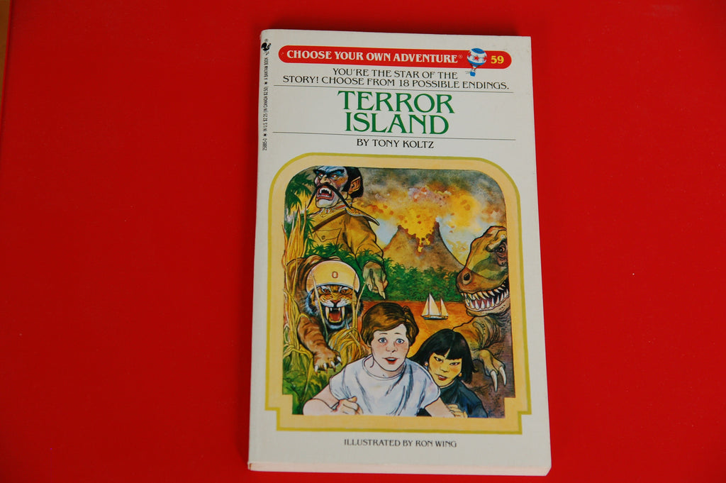 Choose Your Own Adventure Vintage Terror Island