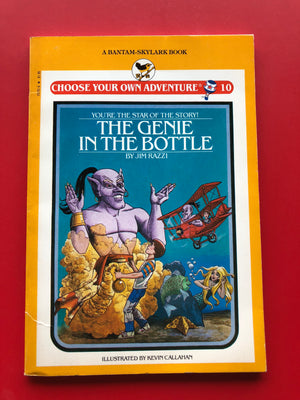 Vintage The Genie in the Bottle #10