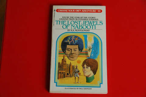 Choose Your Own Adventure Vintage The Lost Jewels of Nabooti