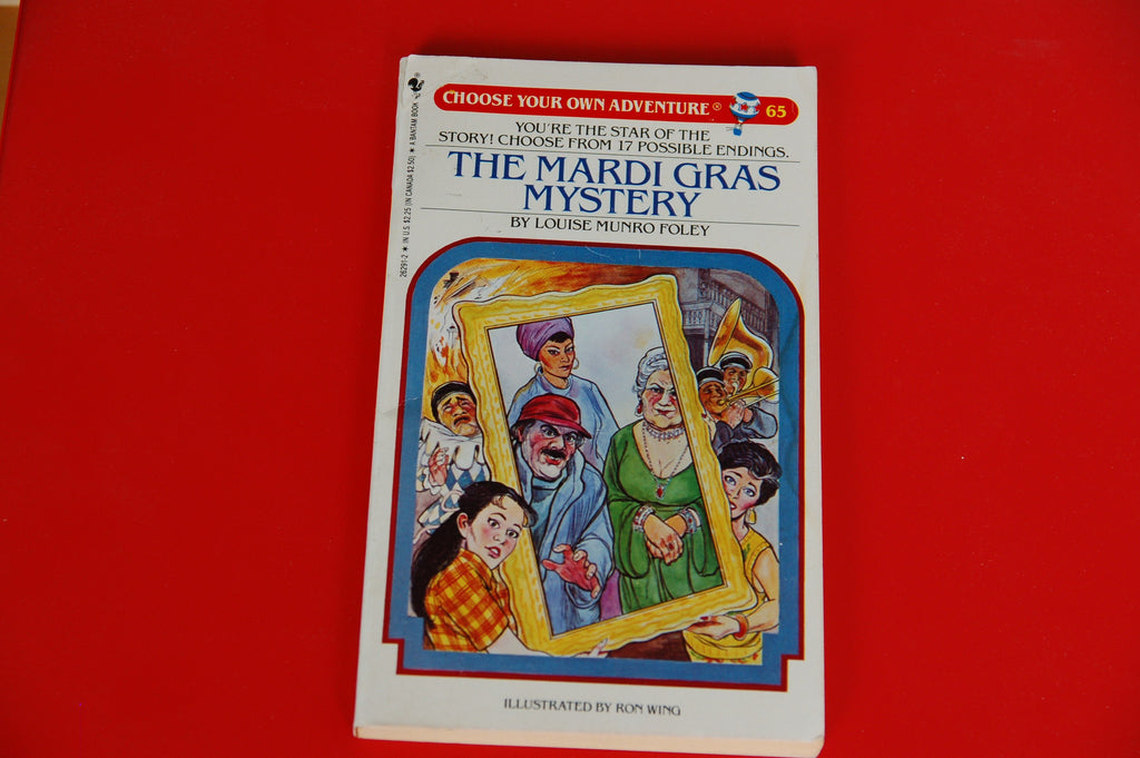 Choose Your Own Adventure Vintage The Mardi Gras Mystery