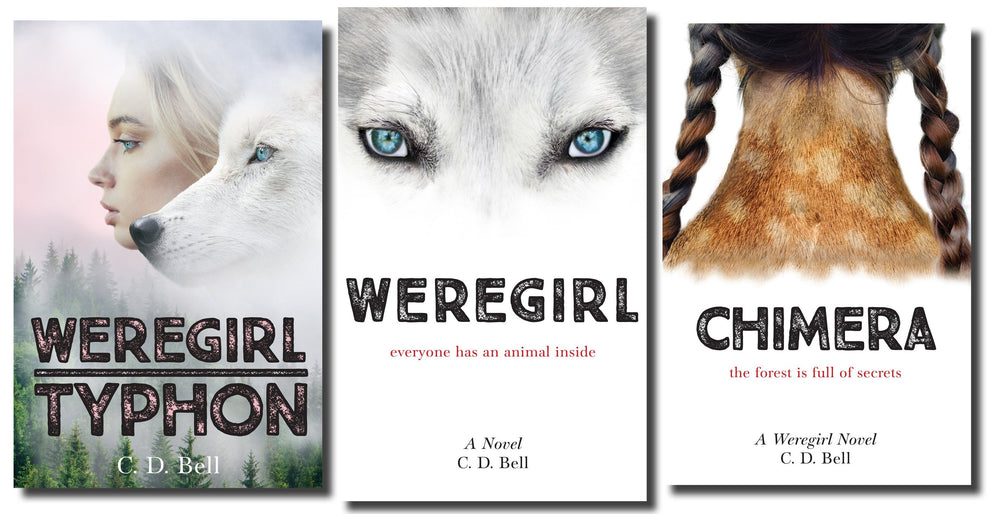 The Weregirl Trilogy - Complete Set