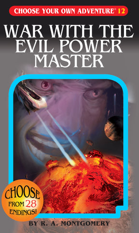 Choose Your Own Adventure #12 War With The Evil Power Master
