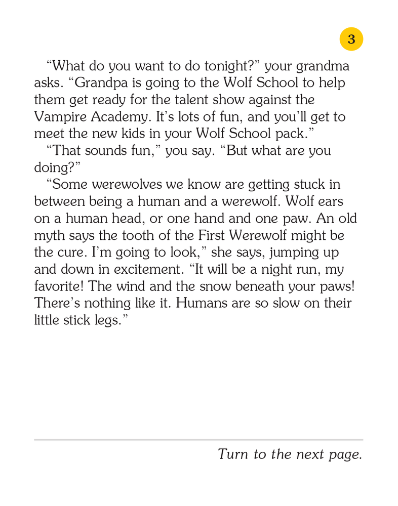 Your Grandparents Are Werewolves