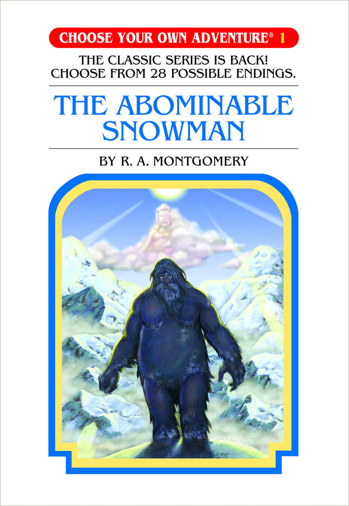 Choose Your Own Adventure #1 The Abominable Snowman Hardcover