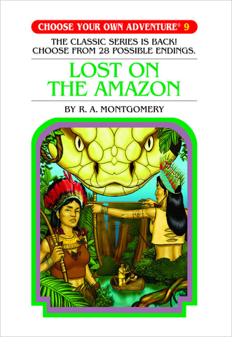 Choose Your Own Adventure #9 Lost on the Amazon Hardcover