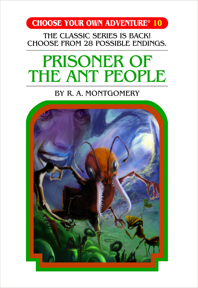 Choose Your Own Adventure #10 Prisoner of the Ant People Hardcover