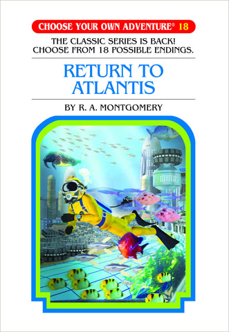 Choose Your Own Adventure #18 Return to Atlantis Hardcover