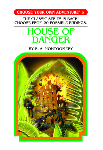Choose Your Own Adventure #6 House of Danger Hardcover