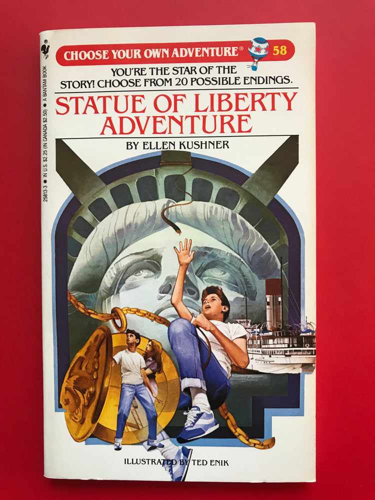 Vintage The Statue of Liberty Adventure #58