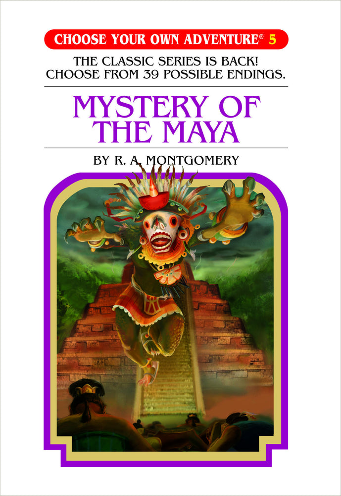 Choose Your Own Adventure #5 Mystery of the Maya Hardcover