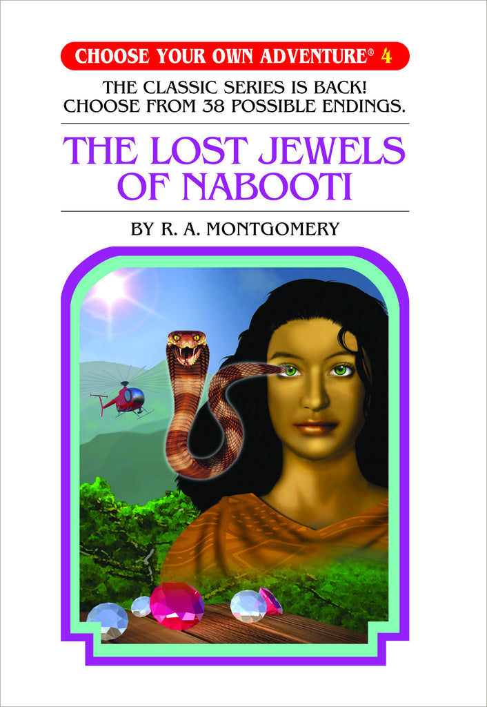 Choose Your Own Adventure #4 The Lost Jewels of Nabooti Hardcover