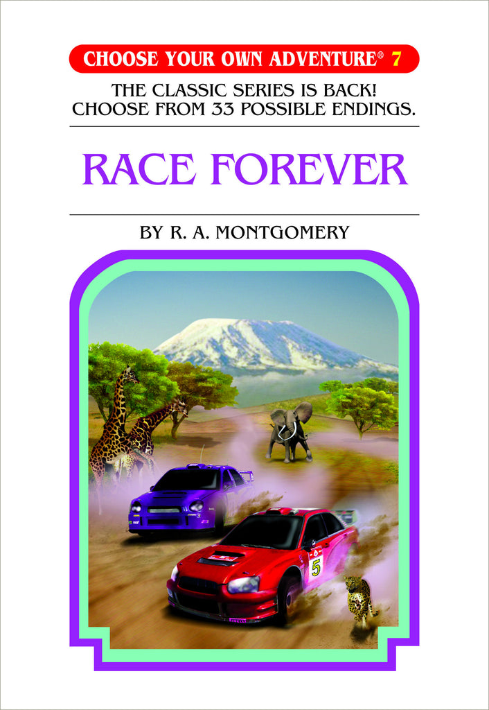 Choose Your Own Adventure #7 Race Forever Hardcover