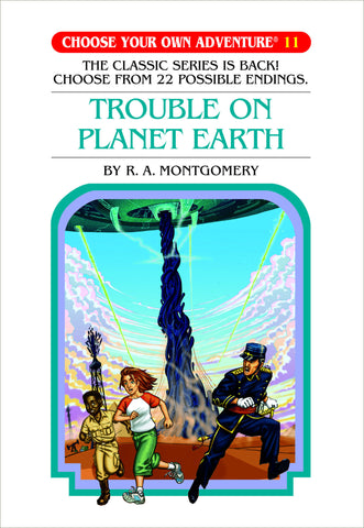 Choose Your Own Adventure #11 Trouble On Planet Earth Hardcover