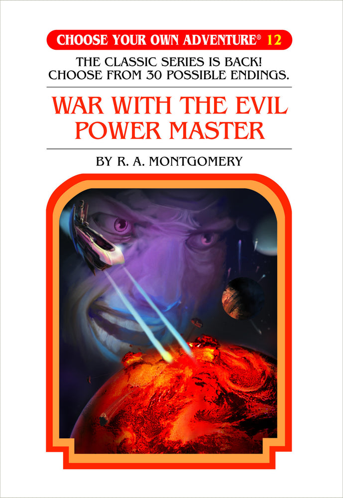 Choose Your Own Adventure #12 War With The Evil Power Master Hardcover